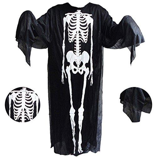 (Halloween Kostüm Geist, Halloween-Kostüme, Moon mood® Halloween Zubehör-Halloween Dekoration Kleidung Terror Angst Haunted House Toy Haushalt Bar Open Air Party im Freien)