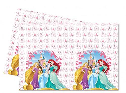 Procos Kunststoff-Tischdecke 120 x 180 cm Princess Heart Strong, mehrfarbig, 5PR87880