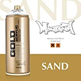 Montana Cans 283765 Spray Dose Gold, Gld400, Cl8300, 400 ml, Sand