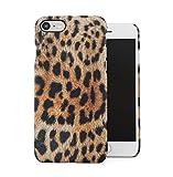 Glamorous Cheetah Fur Skin Pattern Dünne Handy Schutzhülle Hardcase Aus Hartplastik Hülle für iPhone 7 / iPhone 8 Case Cover