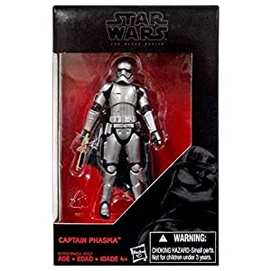 Star Wars 2015 The Black Series Captain Phasma (The Force Awakens) Exclusive Action Figure 3.75 Inches 5
