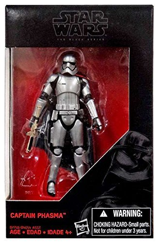 Star Wars: The Force Awakens, The Black Series, Captain Phasma Exclusive Action Figure, 3.75 Inches