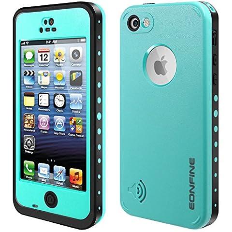 Coque Imperméable pour iPhone 5C, EONFINE Coque Etanche/Anti-Choc/Anti-Neige/Pare-Poussière/Imperméable pour iPhone