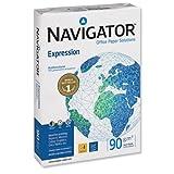 Navigator Expression - Papel para impresora de tinta (A4, 90 g/m2, paquete de 500 hojas)