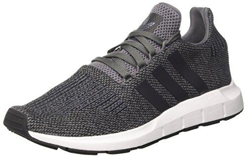 adidas Herren Swift Run Laufschuhe, Mehrfarbig (Grey Four F17/Core Black/Ftwr White), 44 EU (Adidas Schuhe)