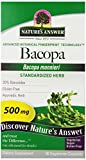 Nature's Answer Bacopa Standardized Vegetarian Capsules, 90 Count