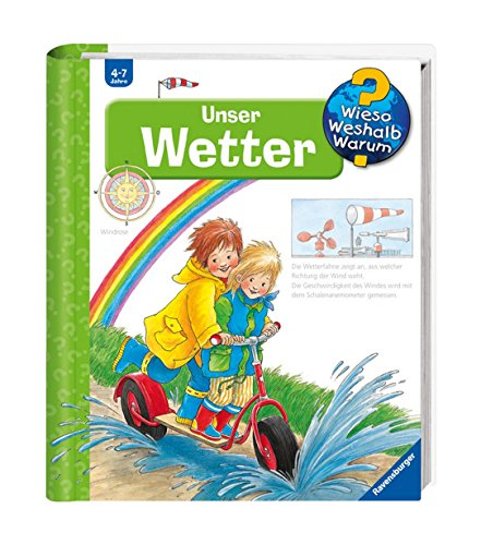 Ravensburger Kinder Sachbuch Wieso? Weshalb? Warum? - Unser Wetter