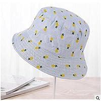 LTQ&qing Sombrero de visera de ocio salvaje pescador sombrero de sol de primavera y verano de lavabo , E , m (56-58cm)