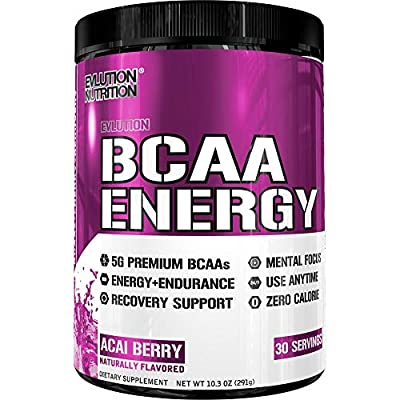 Evlution Nutrition BCAA Energy 30 Servings by EVLUTION NUTRITION