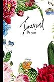 """Journal De notes: Carnet de notes-fleurs déco-Notebook ligné-Bullet-Carnet de bord-Cahier-Bloc-note- fournitures bureau-papeterie scolaire-idées ... voyage   15,2 cm x 22,8 cm (6""""x9"""")/160 pages"""