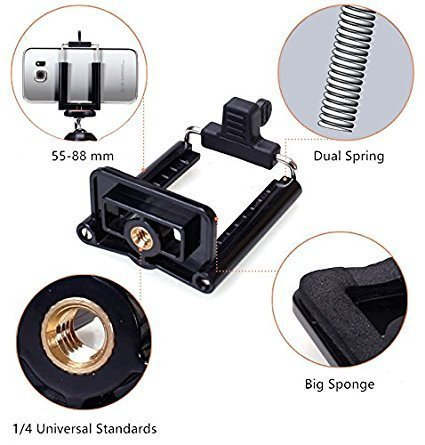 af605a688f13d1 SK Enterprise Universal Mobile Small Size Camera Selfie Stick Holder Tripod  Attachment