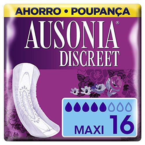Ausonia Discreet Maxi Compresas Para Pérdidas De