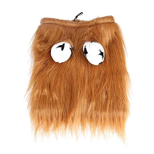erkostüm Löwenmähne Perücke Kostüm Party Kleidung Kleidung für Hunde Katzen Halloween Festival L ()