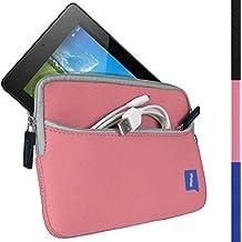 "iGadgitz Sleeve Case 7"" Sleeve case Rosa - fundas para tablets (17,8 cm (7""), Sleeve case, Rosa, Neopreno, Acer, Iconia One 7 B1-730HD)"