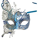 Luxury Colorful Mteal Shiny Crystals Women Girls' Halloween Wedding Prom Fancy Dress Mask