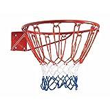 Bremshey Basketball-Korb, rot/weiß/blau, 08BRSTE009