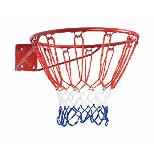 Bremshey Basketball-Korb, rot / weiß / blau, 08BRSTE009 (Mini-basketballkorb Outdoor)