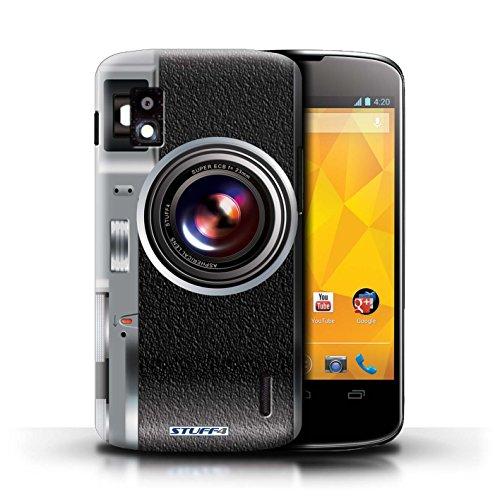 Kobalt® Imprimé Etui / Coque pour LG Nexus 4/E960 / Sportif conception / Série Appareil Photo Millésime