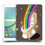 Head Case Designs Topf Mit Gold Random Regen Ruckseite Hülle für Samsung Galaxy Tab S2 9.7