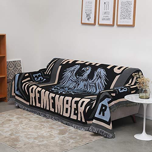 longchang Rock Sofa Handtuch Pad B & B Stil Persönlichkeit Decke Sofabezug Tuch Bar Trend Tapisserie, 90 * 150 cm