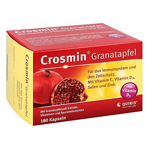 CROSMIN Granatapfel Kapseln, 180 St