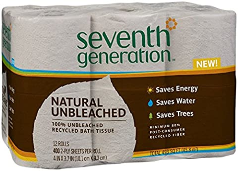 100% Recycled Bathroom Tissue Rolls, 2-Ply, White, 500 Sheets/Roll, 48/Carton, Sold as One Carton