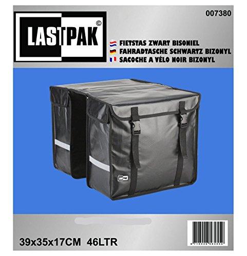LASTPAK 7380 Doppel Fahrradtasche Packtasche BISONYL