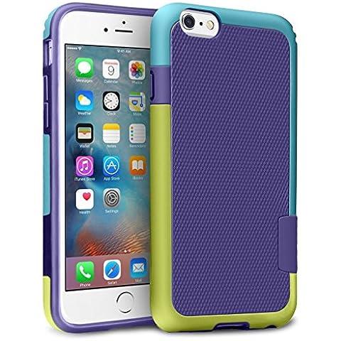 iPhone 6 / 6s Funda – [Ultra Hybrid] HanLuckyStars Funda Carcasa Case TPU Matte Shell Exact Bumper Tope Shock Protección Gota Anti-Arañazos , Choque Absorción Borrar Espalda para Apple iPhone 6 / 6s 4.7