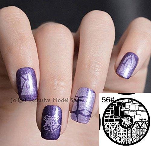 Joligel Nail Stamping Kit Stamper 10 Stamping Templates For Diy