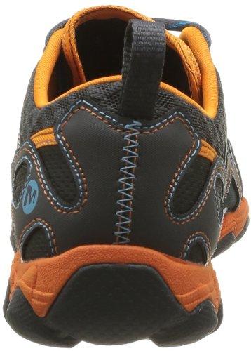 Merrell HURRICANE LACE Herren Bootsportschuhe Bleu (Blue/Orange Peel)