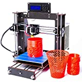 AA+inks 2018 New Desktop A8 DIY 3D Printer Kits, High Accuracy Self-assembly, ProB