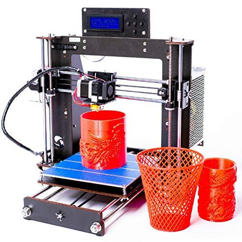 Abcs Printing 2018 Stampante 3D A8 DIY i3 Upgradest di alta precisione Reprap Prusa 3d Stampanti,DHL express, dimensioni di Stampa 200x200x180mm