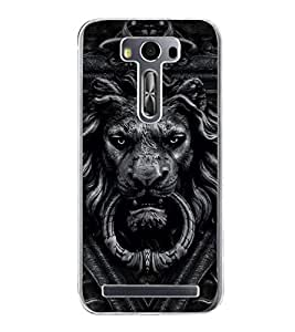 Lion 2D Hard Polycarbonate Designer Back Case Cover for Asus Zenfone Selfie ZD551KL