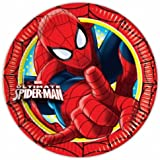Amscan Ultimate Spiderman Paper Plates Party Accessory