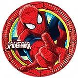 Amscan - Platos para fiesta Spiderman (Amscan International 81524)