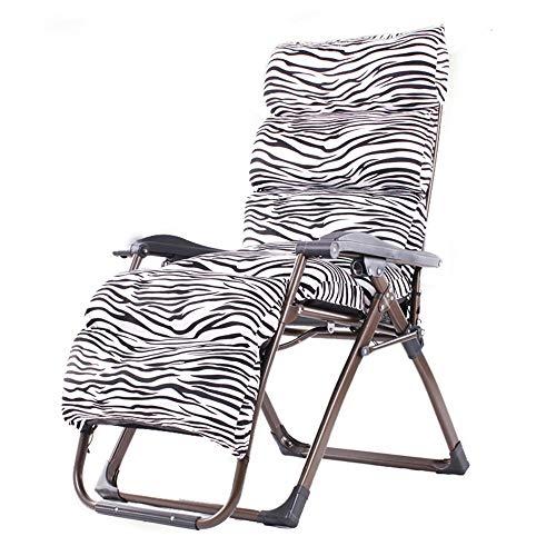 HAIZHEN ZHAIZHEN Chaise Lounge Gravity Zero Gravity Chair, Chaises Longues Inclinables de Terrasse Réglables pour Extérieur Extérieur avec Chaise Patio Inclinable de Coussin pour cour extérieure