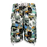 Amphia - Männer Bedruckte beiläufige Kurze Strandhose - Männer Casual 3D Printed Strand Arbeit Casual Männer Kurze Hosen Shorts Hosen