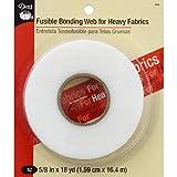"Dritz Fusible Bonding Web for Heavy Fabrics-.625"" X18yd"