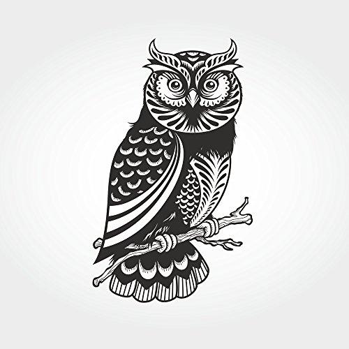Apple iPhone 5 Case Skin Sticker aus Vinyl-Folie Aufkleber Eule Owl Vogel DesignSkins® glänzend
