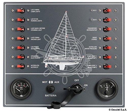OSCULATI Pannello a magnetotermici per Barca a Vela