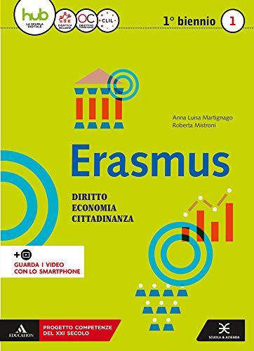 Erasmus. Diritto, economia, cittadinanza. Per gli Ist. tecnici e professionali. Con e-book. Con espansione online: 1