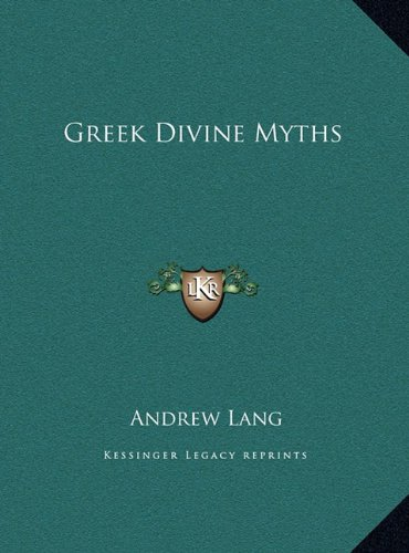 Greek Divine Myths