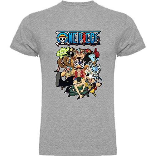 Camiseta de Hombre One Piece Anima Manga L