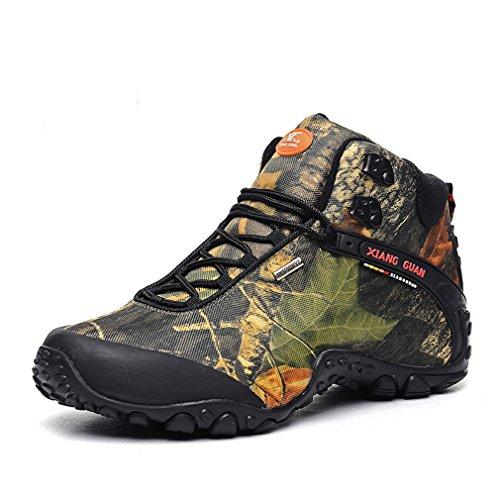 Xiang Guan Homme Montantes Camo Mesh Respirant Chaussures Outdoor Sport Bottes de Randonnée Trekking Trail Desert Camo