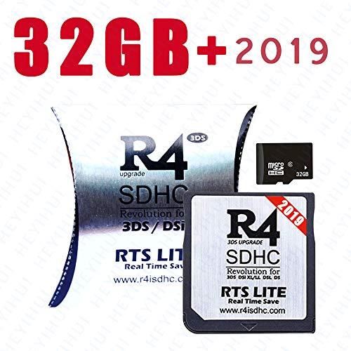 Scheda SDHC + 32GB RTS Lite 2019 per DS - DS Lite - DSi - DSi XL - 3DS - 2DS - Già scarica Kernel ES-IT-FR-DE-UK