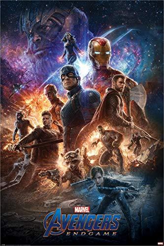 Unbekannt Laminiert The Avengers: Endgame from The Ashes Maxi Poster 61 x 91,5 cm (Hawkeye Aus Avengers)
