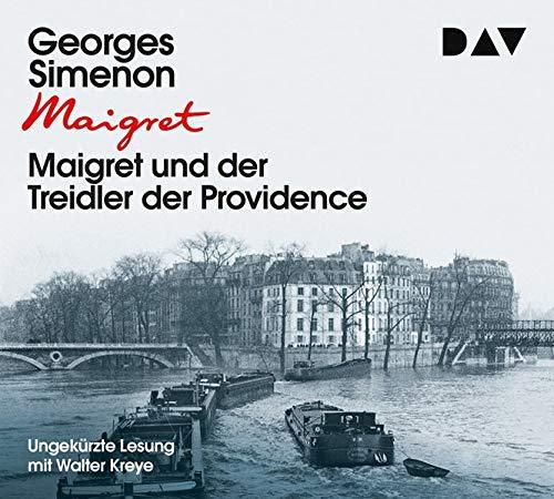 Maigret und der Treidler der Providence: Ungekürzte Lesung mit Walter Kreye (3 CDs)