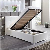 suchergebnis auf f r bett mit bettkasten 100x200 cm k che haushalt wohnen. Black Bedroom Furniture Sets. Home Design Ideas