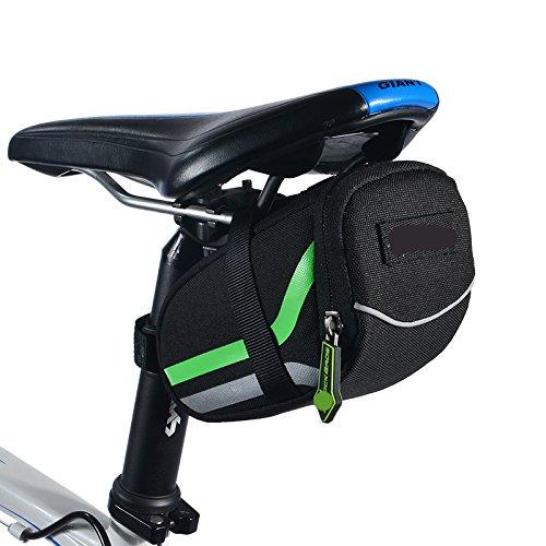 Bike Schwanz Tasche Mountain Road Bike Sattel bag Wasserdichte Tasche in der Rückseite Sitz Reiten Ausrüstung - Style 2