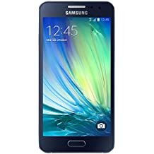 "Samsung Galaxy A3 - Smartphone libre Android (pantalla 4.5"", cámara 8 Mp, 16 GB, Quad-Core 1.2 GHz, 1.5 GB RAM), negro (importado)"